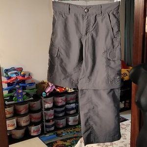 Eddie Bauer zip off shorts/pants